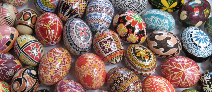 Pysanky - decorated Easter eggs