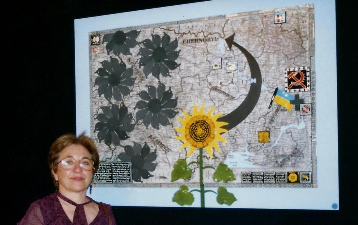 luda & sunflower for Chernobyl B