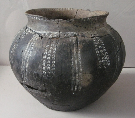 Ancient pot from Archeological digs - Odessa Museum
