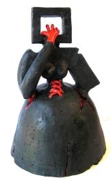 Entrapment Luda K ceramic 45x23x23